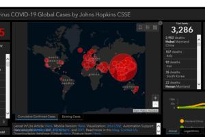Corona Virus Maps